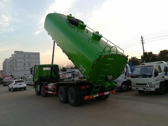 国六污泥运输车1