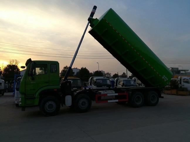 国六污泥运输车3