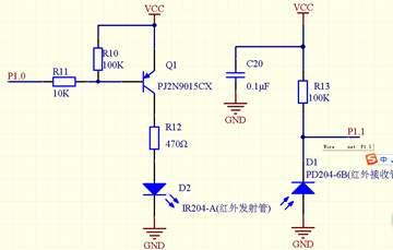 红外对管应用电路图
