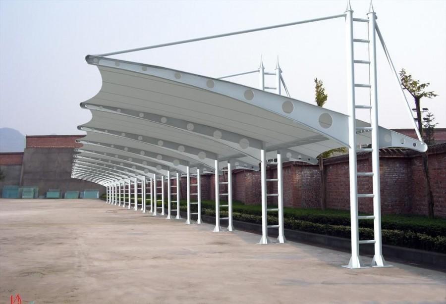 膜结构车棚1