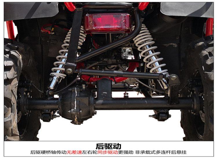 250CC四驅越野沙灘車12