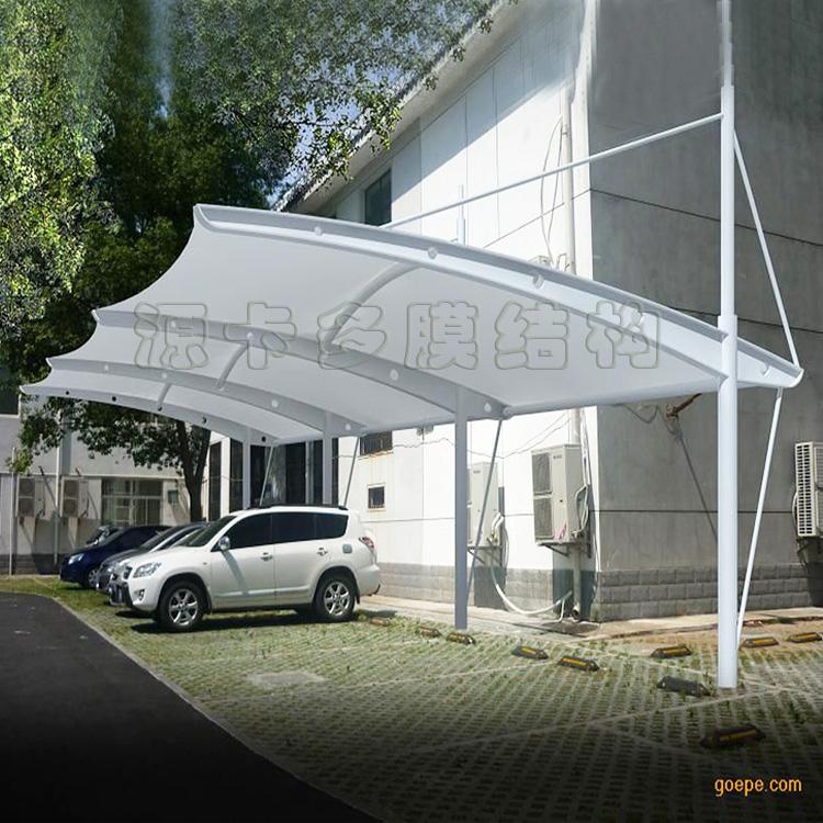 膜结构停车棚4