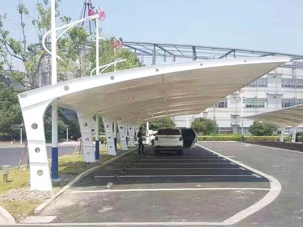 膜结构停车棚1