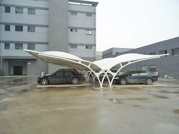 膜结构停车棚2