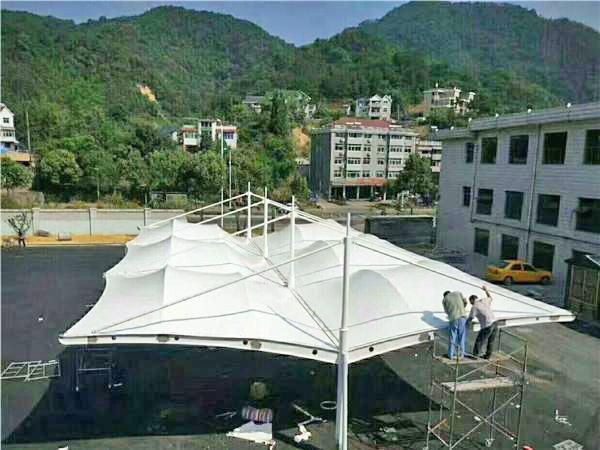 膜结构停车棚5