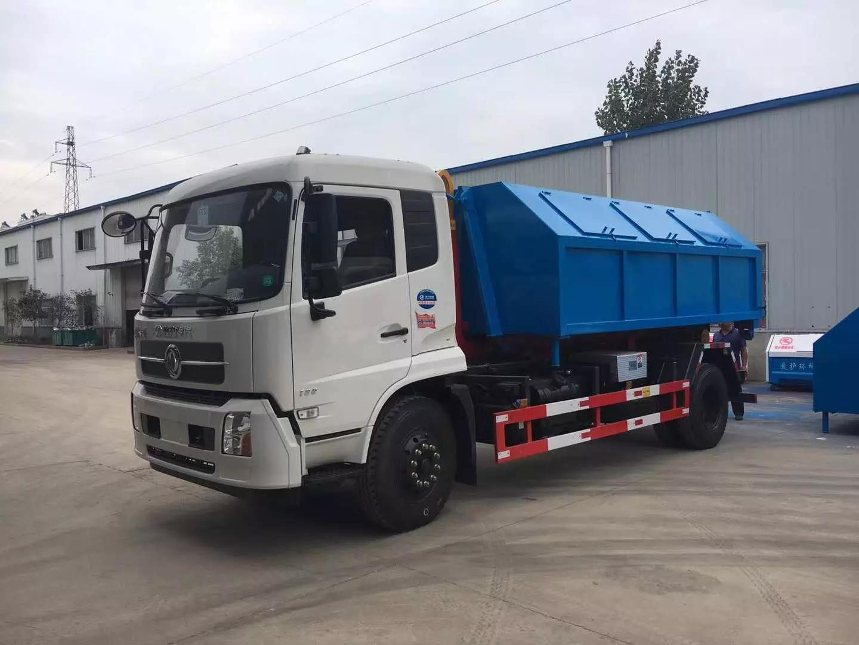 东风天锦国六钩臂垃圾车5
