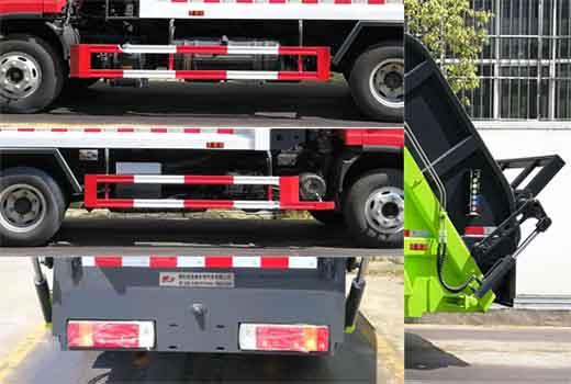 解放4立方5立方压缩垃圾车4