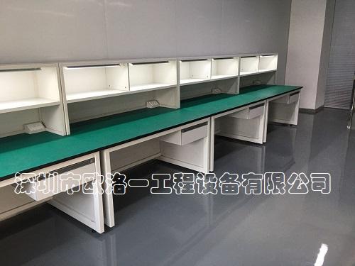 钢木结构防静电工作台3