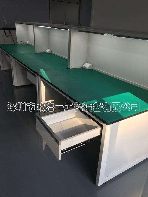 钢木结构防静电工作台4