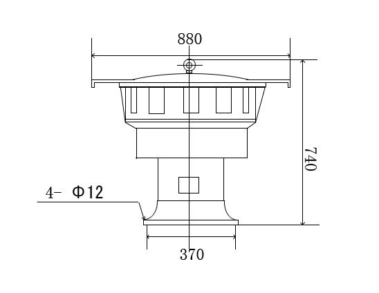 LK-JDL550 Electric siren size