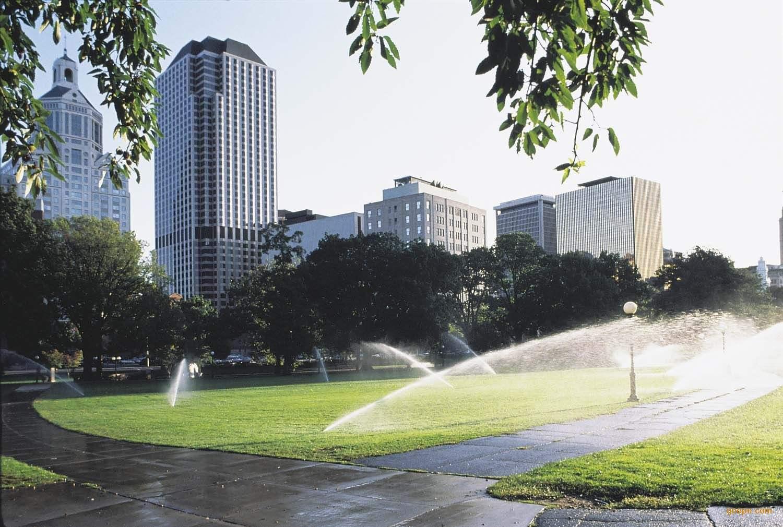 绿化自动喷灌系统