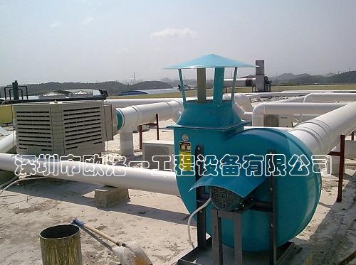 化工厂通风柜2