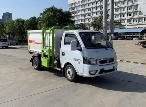东风3-5立方挂桶垃圾车微型污泥运输车1