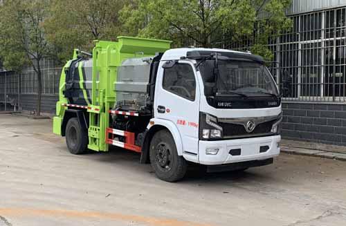 东风小多利卡餐厨垃圾车3-5立方污泥运输车1