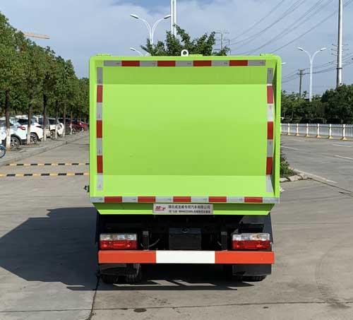 东风3-5立方挂桶垃圾车微型污泥运输车3