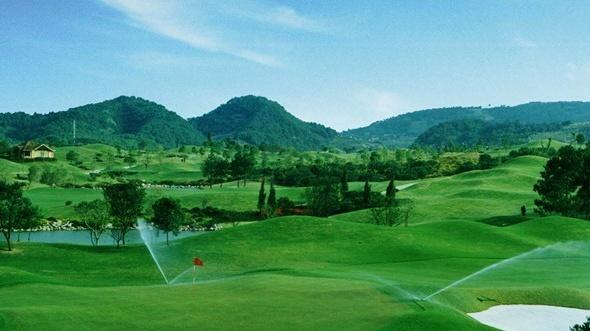 高尔夫球场喷灌