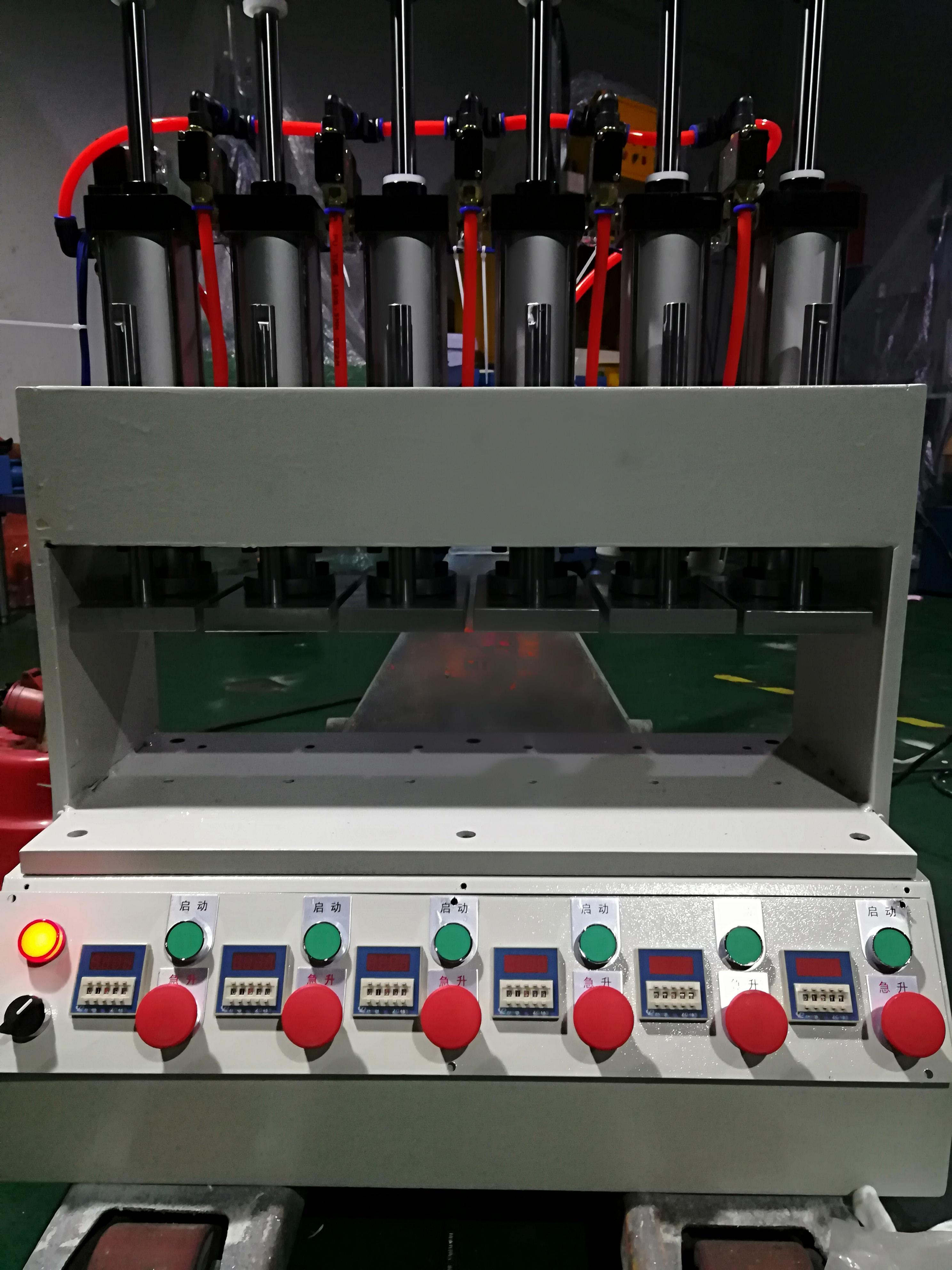 多工位热压成型机