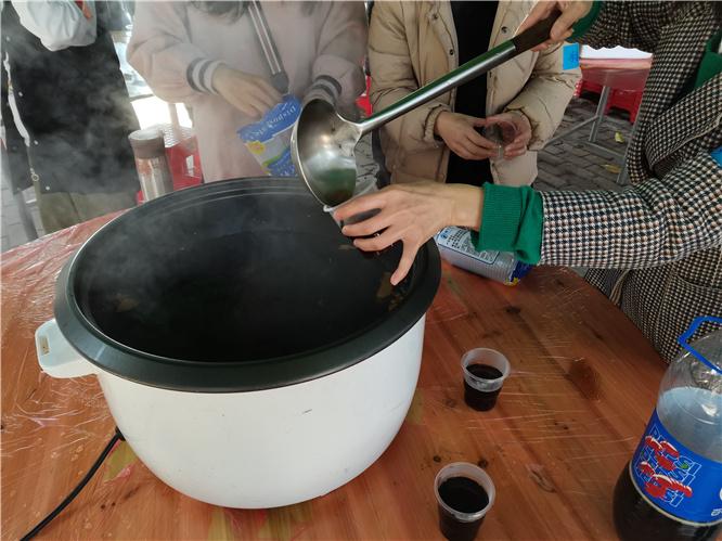 乐水山庄可乐姜汤