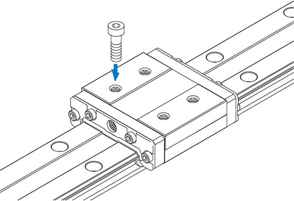 HRW-CR型宽体导轨滑块