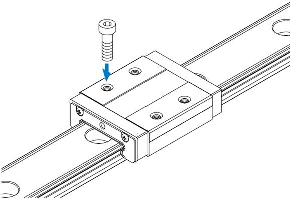 微型宽体导轨滑块 HRW-LRM型