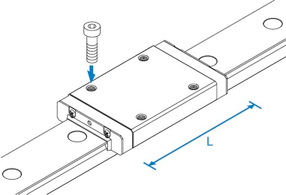 RSR-N微型导轨滑块