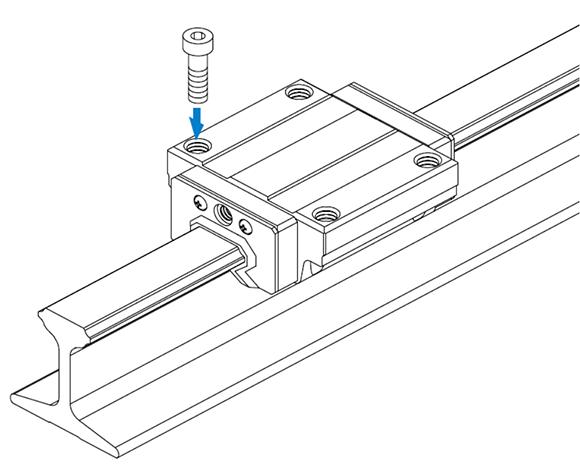 JR-A型工型导轨滑块