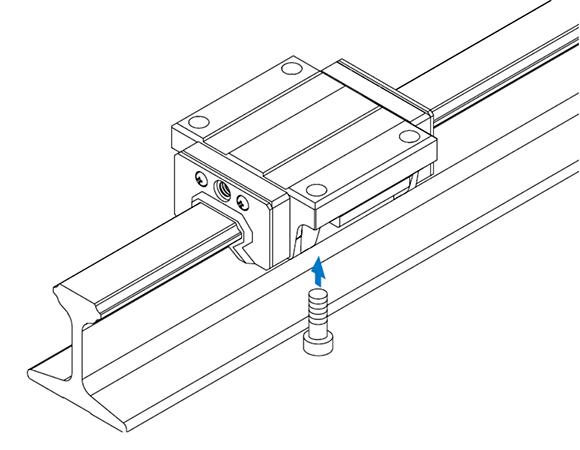 JR-B型工型导轨滑块