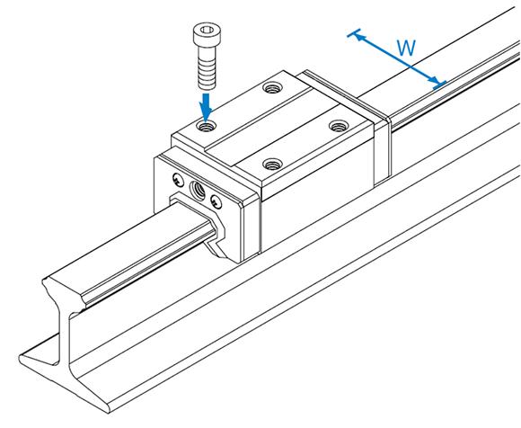 JR-R型工型导轨滑块