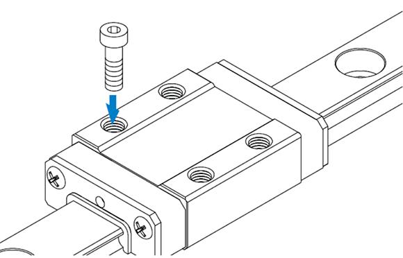RSR-M1、RSR-M1K和M1V型高温用导轨滑块