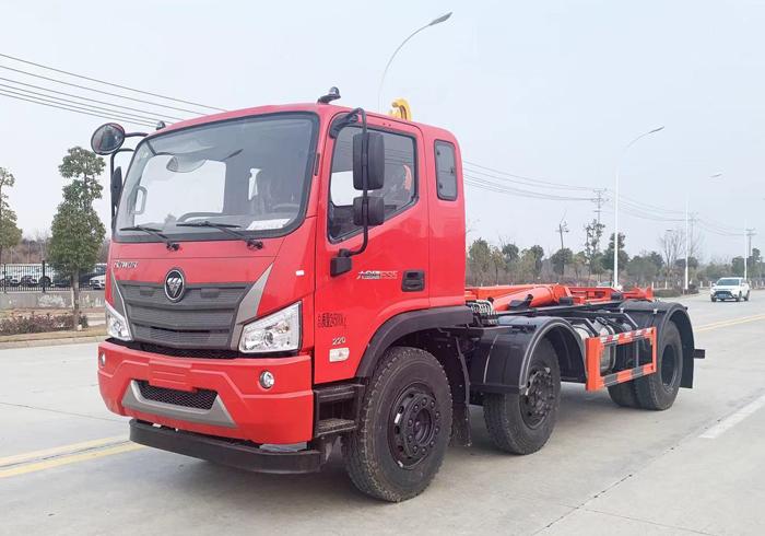 福田瑞沃20吨钩臂垃圾车5