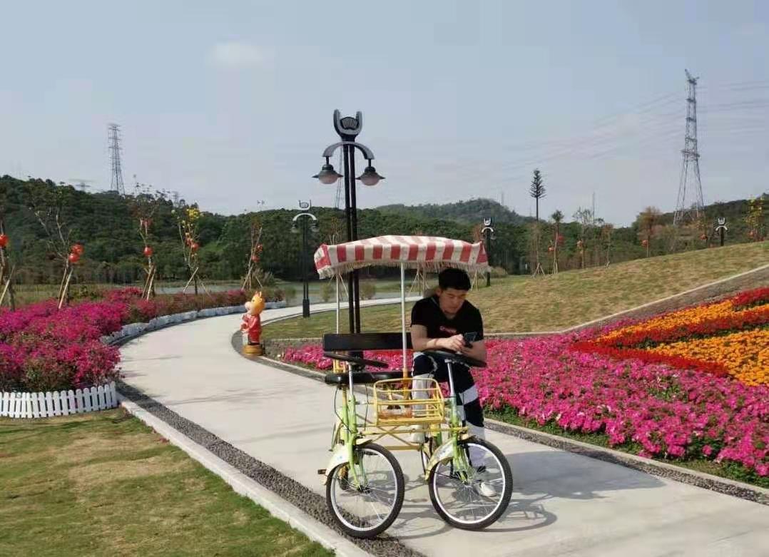 深圳农家乐-乐水山庄环湖骑行