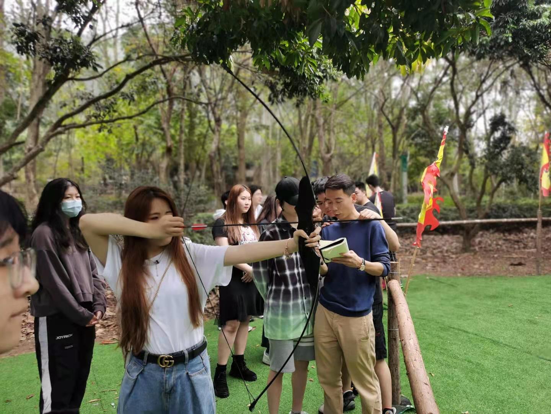 深圳农家乐-乐水山庄射箭比赛