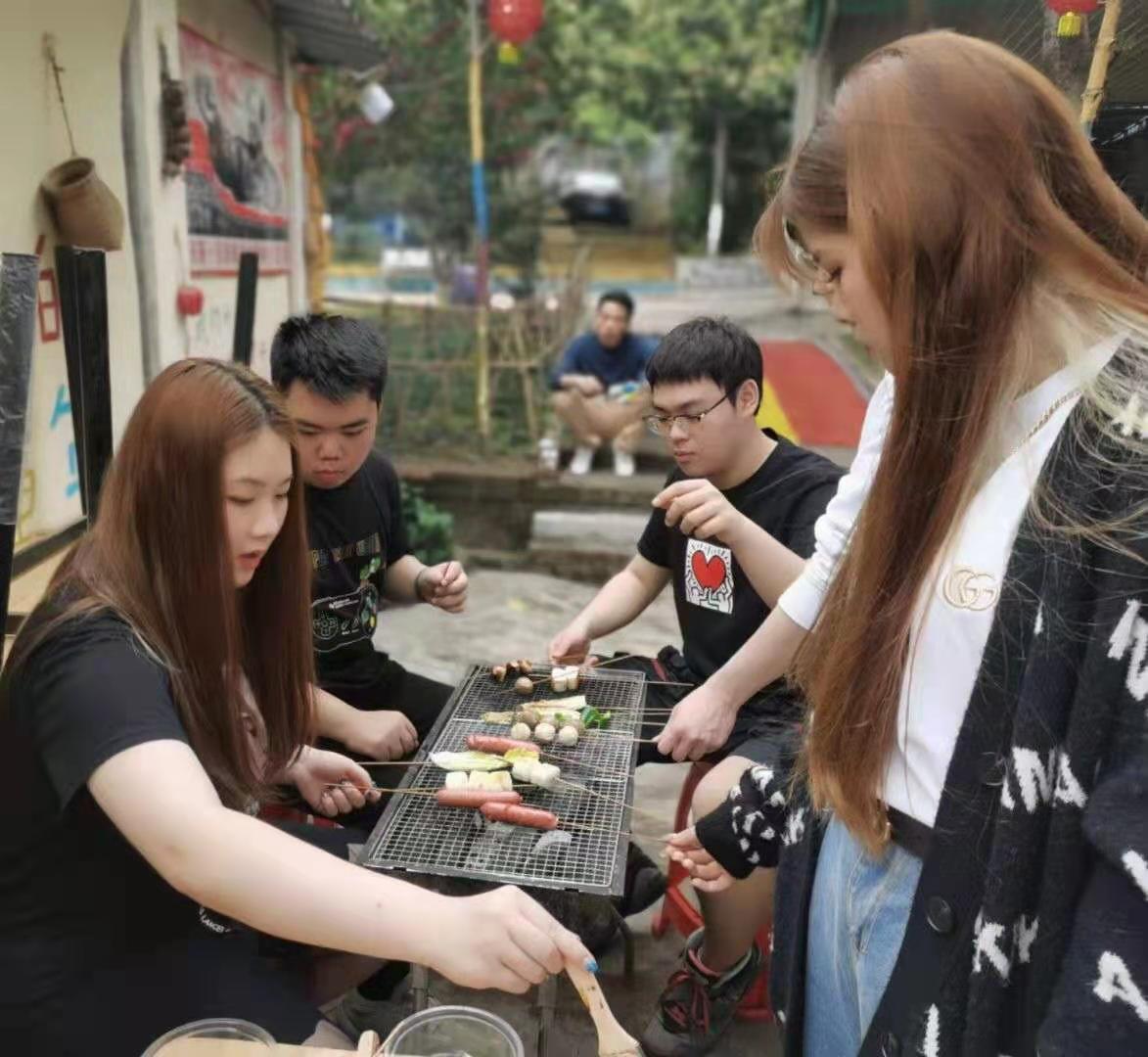 深圳农家乐-乐水山庄BBQ烧烤