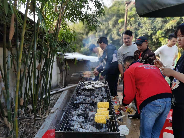 深圳农家乐-乐水山庄野炊活动:BBQ烧烤