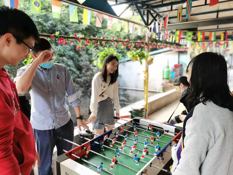 深圳农家乐-乐水山庄:桌式足球