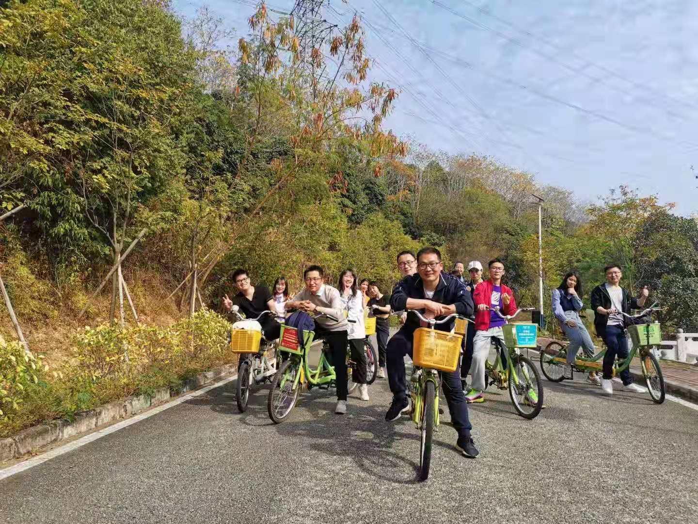 深圳农家乐-乐水山庄:环湖骑行
