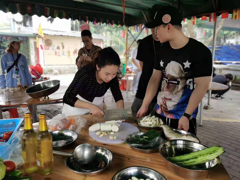 深圳农家乐-乐水山庄野炊活动