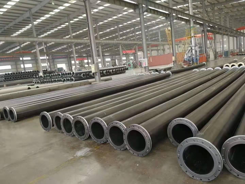 尾矿用超高分子钢塑耐磨复合管