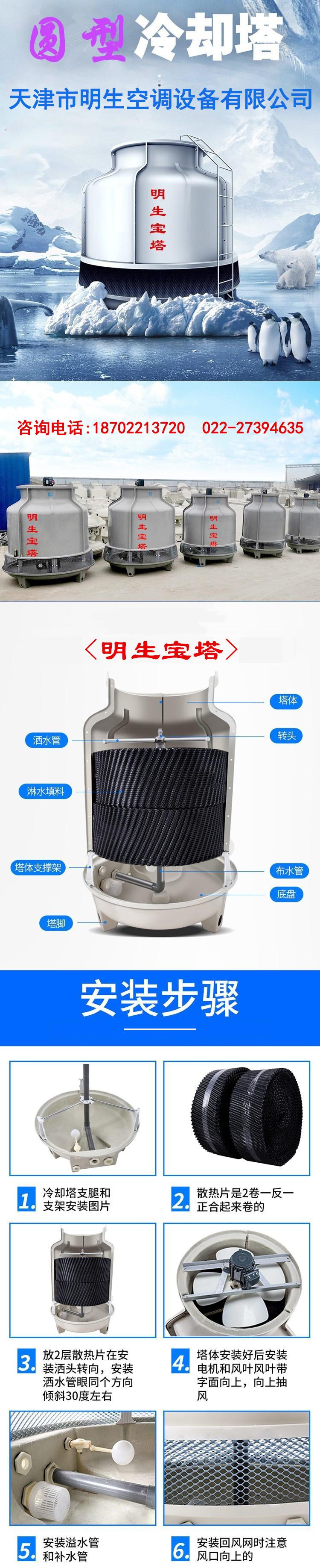 圆形冷却塔1