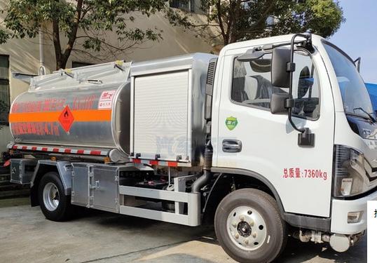 国六东风多利卡4.7方航空煤油罐式飞机加油车