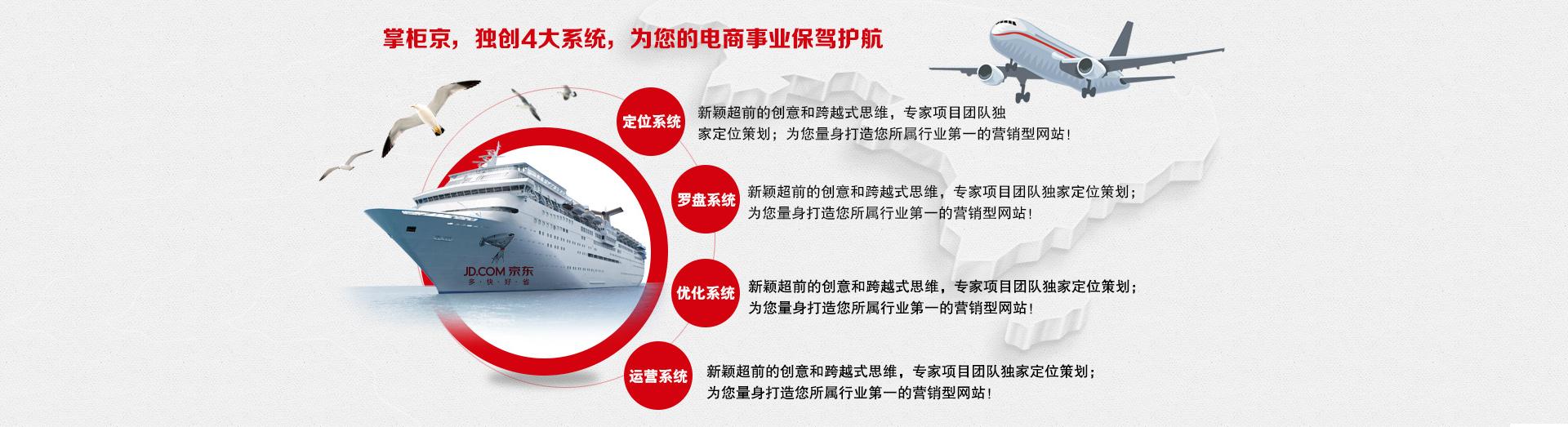 京掌柜独创四大系统,为您的电商事业保驾护航!