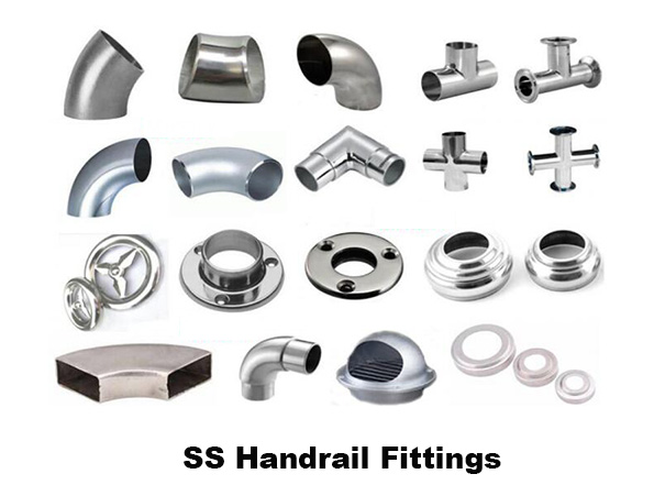 SS Handrail Fittings