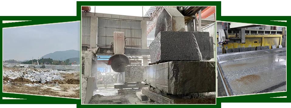 专业从事花岗岩石材产品的生产、加工、销售