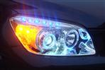 UV胶应用于汽车车灯粘接