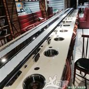 武汉旋转火锅设备安装案例