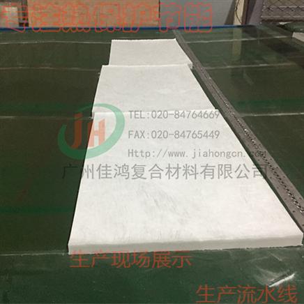 玻纤芯材-生产流水线