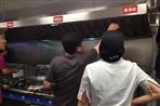 厨房全自动灭火系统设备安装完毕