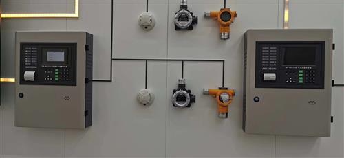 厂房消防火灾自动报警设备安装验收合格