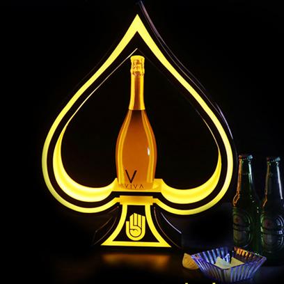 香槟黑桃A酒座
