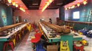 广西贵港飒飒洋自助涮烤一体设备餐厅